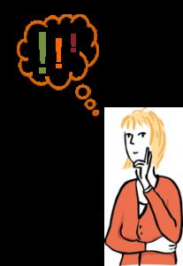 Frau nachdenken